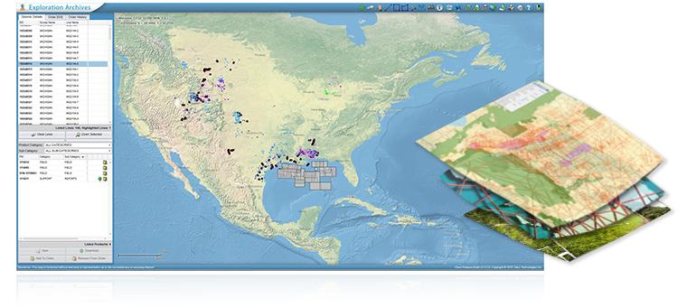 Exploration Archives Browser
